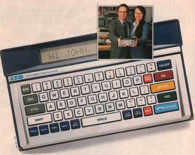 iXO Telecomputer, Bob and Holly